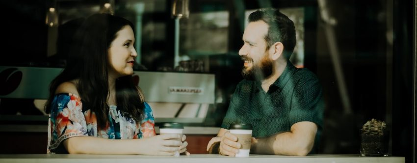 Couple Listening