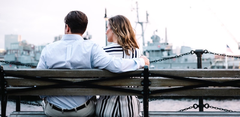 Fulfillling Relationships - couple sitting on a bench